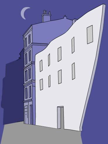 Illustration theatre artistic